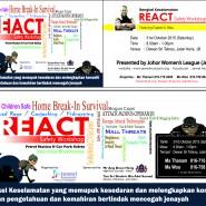 REACT Safety Programme returns to Johor  Bahru