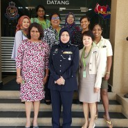 Jewel meets the Johor Deputy Chief Of Police