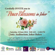 Peace Blossoms In Johor