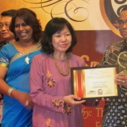 Madam Woo from JEWEL wins Iskandar Malaysia Social Hero Awards ( IMSHA ) 2014